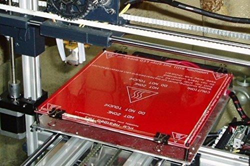 Druckplatte - Borosilikatglas